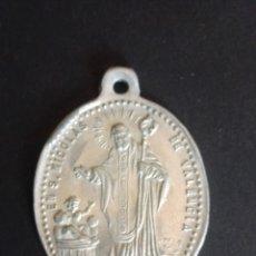 Antigüedades: ANTIGUA MEDALLA DE SAN NICOLÁS Y STA. FILOMENA. VALENCIA.. Lote 274728673