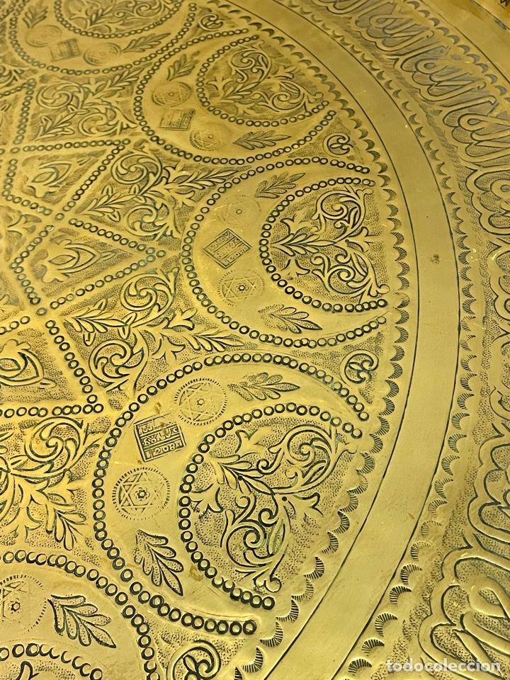 Antigüedades: Mesa Árabe Circa 1.940 - 1.960 - Foto 5 - 256076205