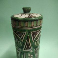 Antiquités: ALBARELO CERÁMICA DOMINGO PUNTER FARMACIA. Lote 274849758