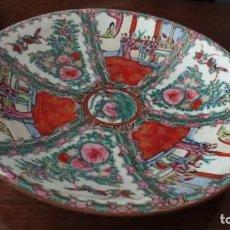 Antigüedades: PLATO DE PORCELANA CHINA DE LA ERA QIANLONG.. Lote 274878918