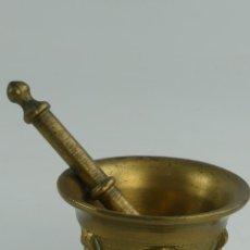 Antiquités: MORTERO ALMIREZ DE BRONCE OBJETO DE DECORACIÓN. Lote 275061733