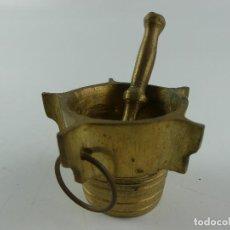 Antiquités: RARO ALMIREZ-MORTERO EN BRONCE EXCELENTE PIEZA DE COLECCIÓN. Lote 275062743