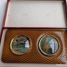 Antigüedades: MARCO PARA FOTOS AÑOS 60-70 MUY BUENAS CONDICIONES.. Lote 275079698