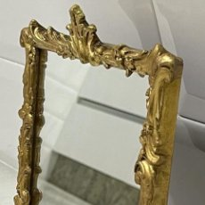 Antigüedades: ANTIGUO ESPEJO FRANCÉS SOBREMESA SIGLO XIX. Lote 275144568