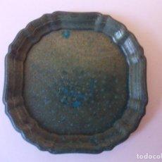 Antigüedades: PEQUEÑA FUENTE O PLATITO DE COBRE DÉCADA 1920. Lote 275262138