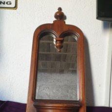 Oggetti Antichi: ANTIGUO ESPEJO MADERA. Lote 292413328