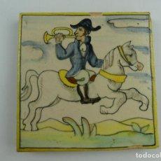 Antiquités: BONITO AZULEJO ONDA ESPAÑA. Lote 275487013