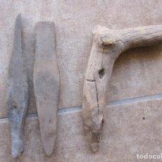 Oggetti Antichi: DOS PIEDRAS DE AFILAR HOCES Y HERRAMIENTA DE PLANTAR. Lote 275513828
