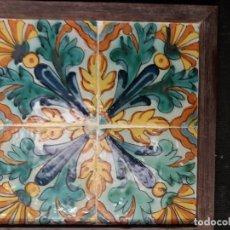 Antigüedades: BONITOS AZULEJOS CATALANES DEL SIGLO XVII. Lote 275519883
