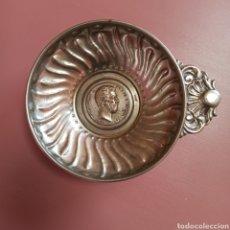 Antigüedades: AMADEO I REY DE ESPAÑA 1870 - 1873 * RECIPIENTE DE ALPACA. Lote 275532783