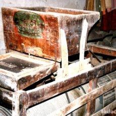 Antigüedades: TRIEUR CLERT TRITURADOR DE GRANO CLERT (FRANCES). Lote 275533193