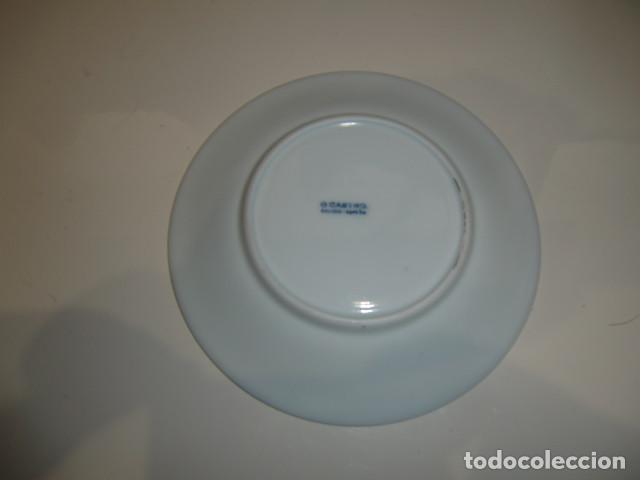 Antigüedades: platillo porcelana - jefatura superior de policia - galicia - cerámica EL CASTRO - Foto 2 - 275556648
