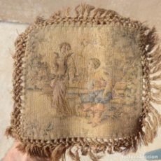Antigüedades: ANTIGUO TAPIZ POR CATALOGAR 20X20 APROX. Lote 275579743