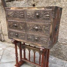 Antigüedades: BARGUEÑO DE PLATA. Lote 275621403