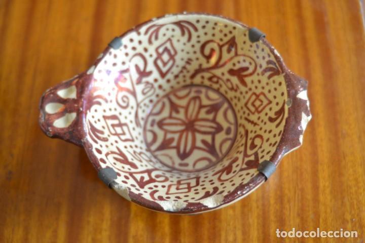 ESCUDILLA, BOL MANISES (Antigüedades - Porcelanas y Cerámicas - Manises)