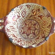 Antigüedades: ESCUDILLA, BOL MANISES. Lote 275668633