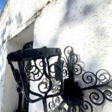 Antigüedades: MACETERO DE HIERRO. Lote 275670303