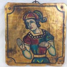 Antigüedades: ICONO RELIGIOSO 27 CM DE ALTO. Lote 275677088