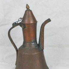Antigüedades: GRAN JARRA DE COBRE DE 33 CM SIGLO XIX. Lote 275707233