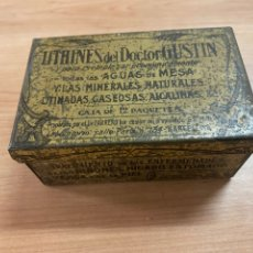 Antigüedades: CAJA DE METAL ANTIGUA. Lote 275724043