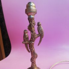Antigüedades: PEQUEÑA LAMPARITA ANTIGUA DE BRONCE. Lote 275746418