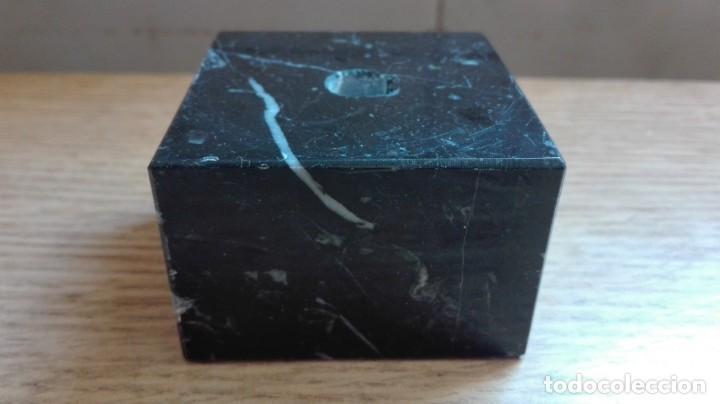 PEANA O BASE DE MÁRMOL (Antigüedades - Muebles Antiguos - Ménsulas Antiguas)