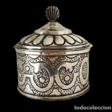 Antigüedades: PÍXIDE DE PLATA. Lote 275891218