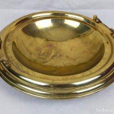 Antigüedades: IMPRESIONANTE BRASERO DE COBRE DE 39 CM. Lote 275915518