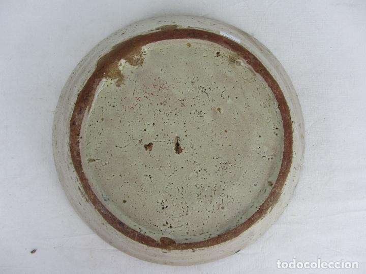 Antigüedades: Fuente en cerámica azul de Fajalauza, siglo XIX - Foto 7 - 275936008