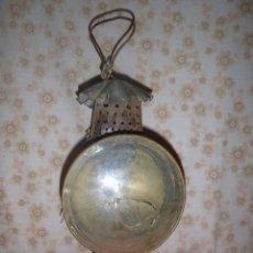 Antigüedades: ANTIGUO FAROL CARBURO EN HOJALATA. Lote 275952528