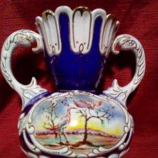Antigüedades: PRECIOSO JARRON DE PORCELANA. Lote 275966038