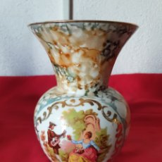 Antigüedades: ANTIGUO JARRON DECORATIVO PORCELANA. Lote 275974588