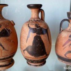 Antigüedades: LOTE DE TRES REPRODUCCIÖNES ARQUEOLOGICAS. Lote 276001568