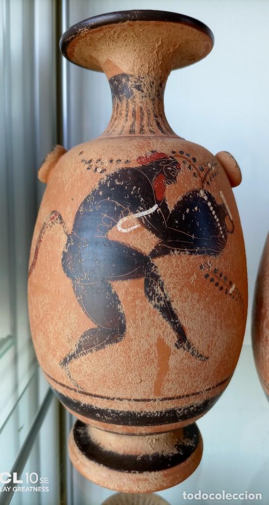 Antigüedades: LOTE DE TRES REPRODUCCIÖNES ARQUEOLOGICAS - Foto 2 - 276001568
