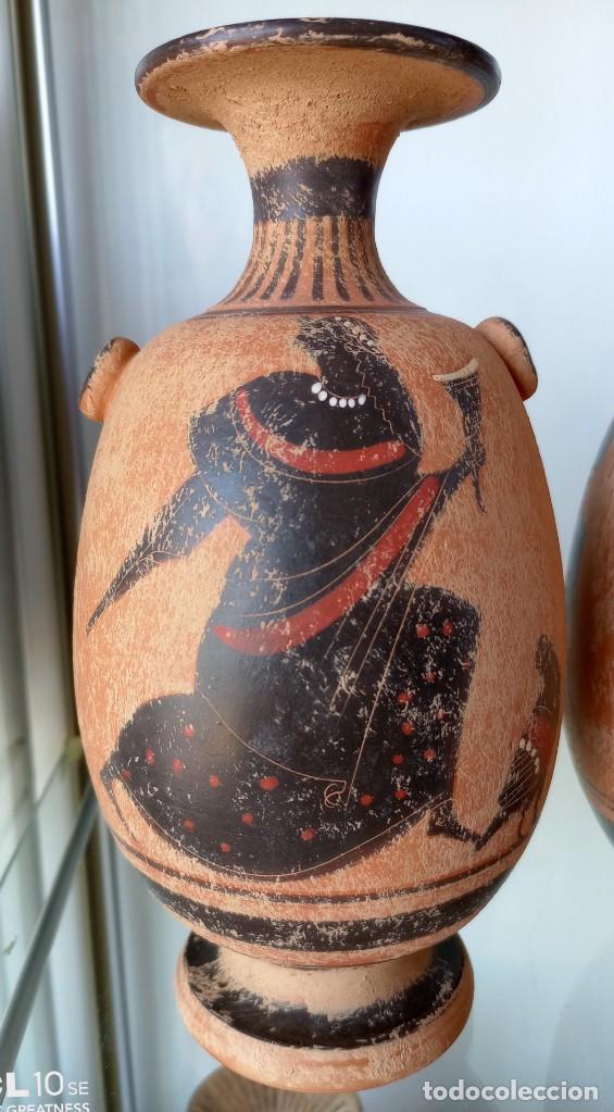 Antigüedades: LOTE DE TRES REPRODUCCIÖNES ARQUEOLOGICAS - Foto 3 - 276001568