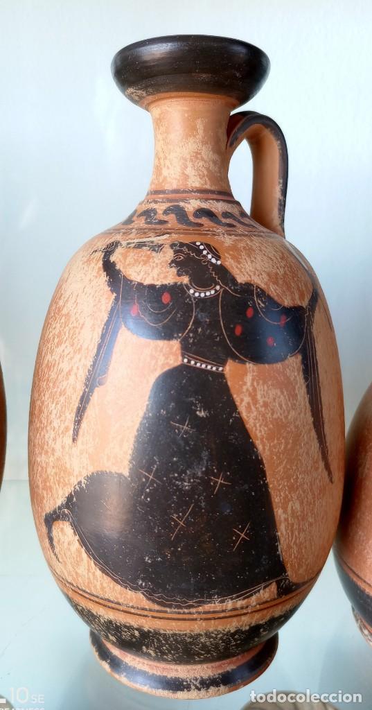 Antigüedades: LOTE DE TRES REPRODUCCIÖNES ARQUEOLOGICAS - Foto 4 - 276001568