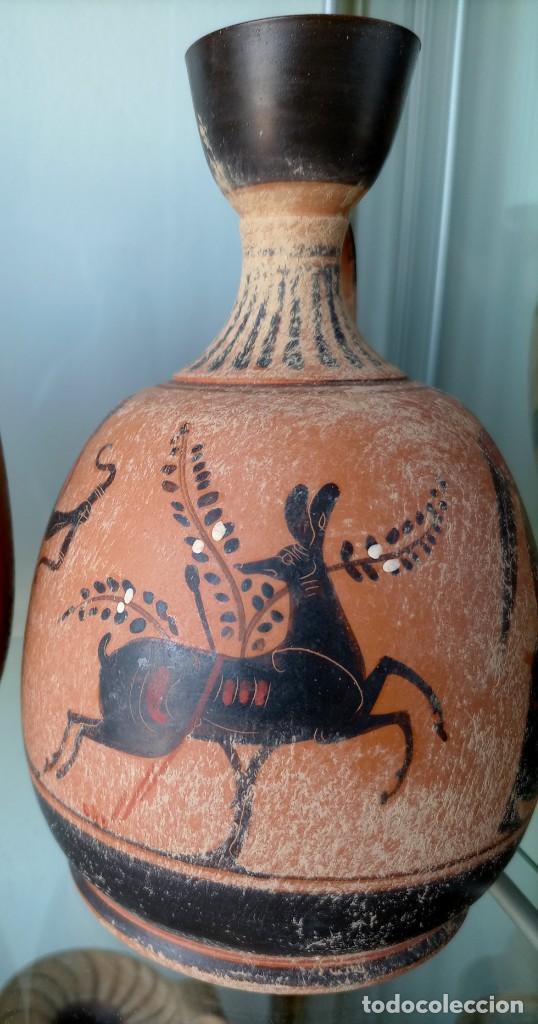 Antigüedades: LOTE DE TRES REPRODUCCIÖNES ARQUEOLOGICAS - Foto 7 - 276001568