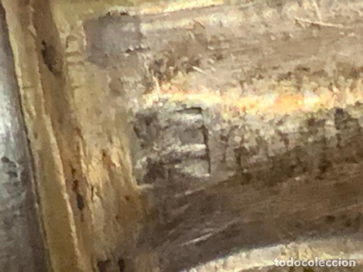Antigüedades: Lote de 12 antiguos cuchillos, 6 de 25cms y 6 de 20cms. Alpaca plateada tipo meneses... - Foto 3 - 276028873