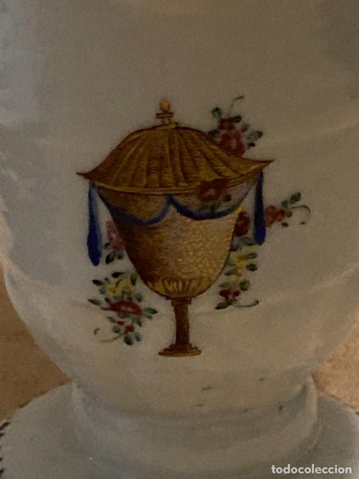 Antigüedades: Plato y Jarra de Compañía de Indias - Foto 8 - 276047148