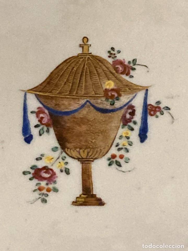 Antigüedades: Plato y Jarra de Compañía de Indias - Foto 9 - 276047148
