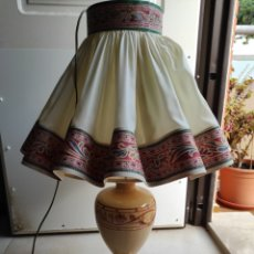 Antigüedades: LAMPARA DE MESA ESTILO MODERNISTA. Lote 276111498