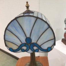 Antigüedades: LAMPARA TIFFANY MESA ESCRITORIO CRISTAL VIDRIO. Lote 276112858