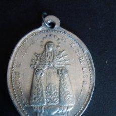Antigüedades: MEDALLA DE LA DOLOROSA Y EL CRISTO SALVADOR. 3,8 X 2,8 CM. Lote 276163533