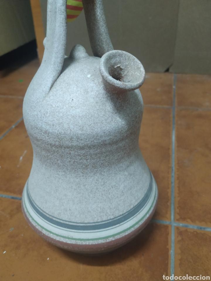 Antigüedades: Precioso porrón decorativo creo verdu - Foto 3 - 276165118