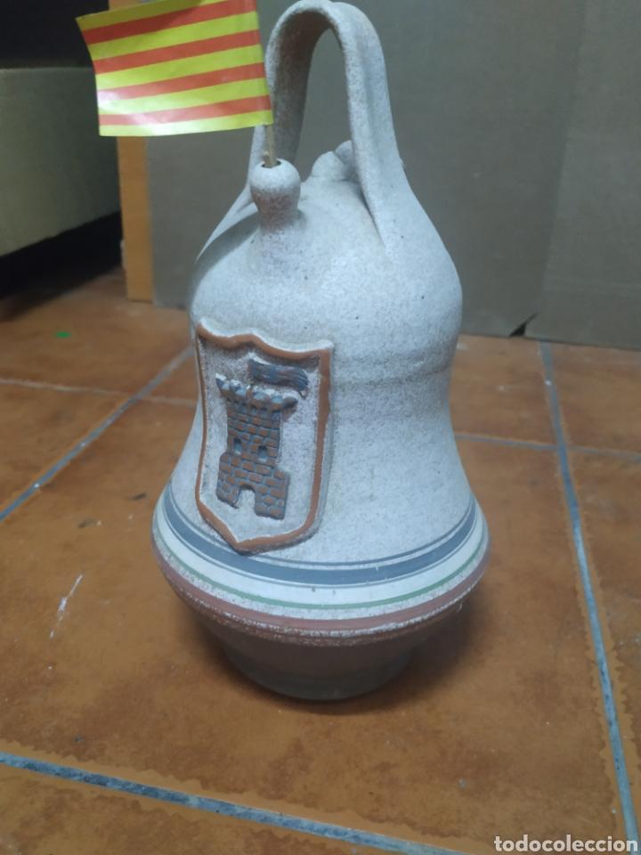 PRECIOSO PORRÓN DECORATIVO CREO VERDU (Antigüedades - Porcelanas y Cerámicas - Catalana)