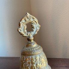 Antigüedades: CAMPANA DE BRONCE - CAMPANILLA. Lote 276194843