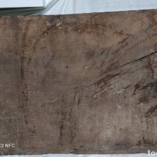 Antiguidades: ANTIGUO TABLERO DE NOGAL. Lote 276214623