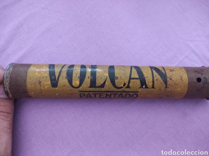 Antigüedades: Antiguo Fumigador - Pulverizador de Insecticida El Volcán - Foto 3 - 276220013