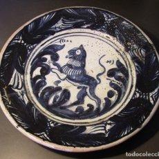 Antigüedades: GRAN PLATO DE CERÁMICA CATALANA. Lote 276241713