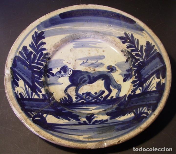 Antigüedades: PLATO CERÁMICA CATALANA XVIII - Foto 2 - 276242058